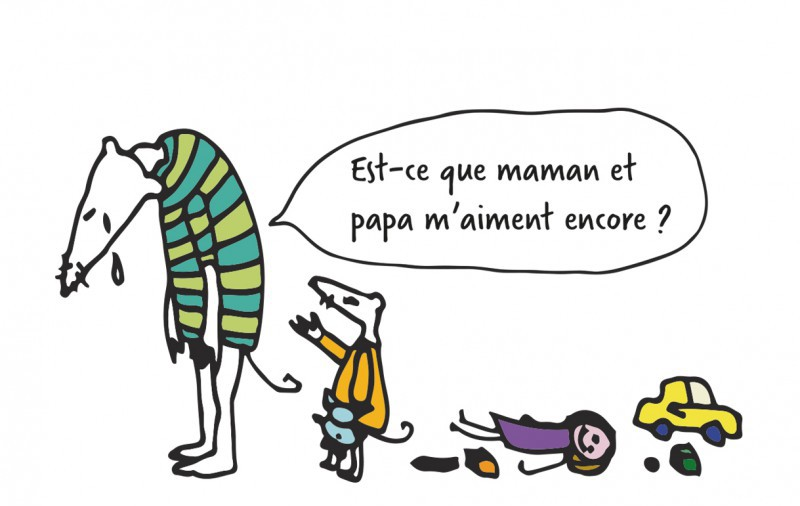 «Quand les parents se séparent…»